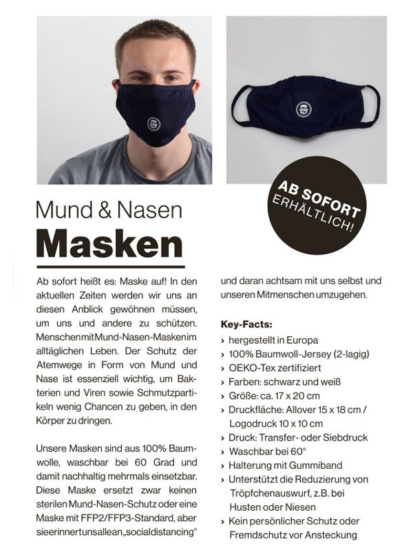Mund & Nasen Masken